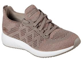 Skechers Shoes - Bobs Sport Squad Hot Spark 31368 Taupe
