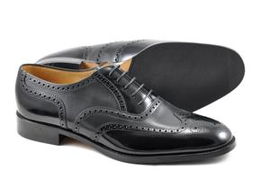 Loake Shoes - Lowick Black