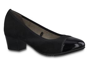 Jana Shoes - 22300-24 Black Metallic