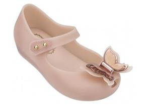Melissa Shoes - Mini Ultragirl Butterfly Blush
