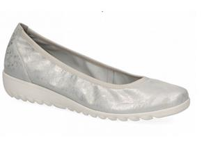 CAPRICE SHOES 22161-26 SILVER SUEDE
