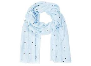 Tommy Hilfiger Scarf - Flag All Over Print Blue