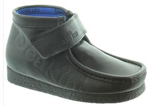 Deakins Shoes - Kain Embossed Strap Black