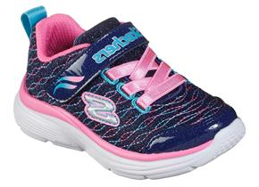 Skechers Shoes - Wavey Lights 81378 Navy Pink