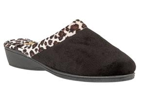 Lotus Slippers - Airelle Black