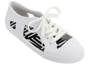 Vivienne Westwood + Melissa Shoes - VW Brighton Sneaker 21 White