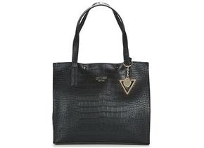 Guess Bags - Kinley Carry All Black Croc