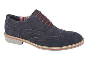 Roamers Shoes - M480 Navy Suede