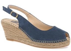 Lisa Kay Shoes - Emmy Navy Suede
