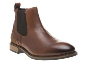 Tommy Hilfiger Boots - Elevated Chelsea Brandy