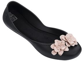 Zaxy Shoes - Start Flowers Black