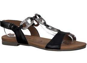 Tamaris Sandals -28163-24 Black Pewter