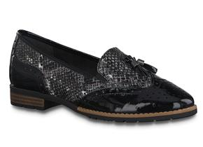 Jana Shoes - 24260-25 Black Snake