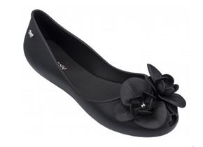 Zaxy Shoes - Stories Flower Black