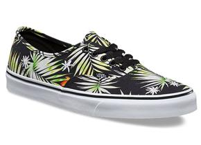 Vans Shoes - Authentic Decay Palm Tree Black Multi