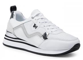 Tommy Hilfiger Shoes - Feminine Active City Sneaker White Silver
