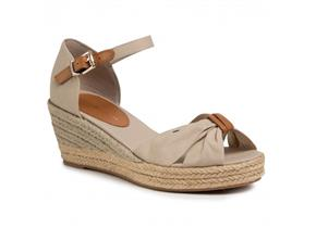 Tommy Hilfiger Shoes - Basic Open Toe Mid Wedge Stone