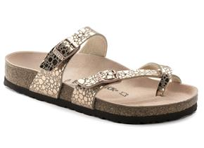 Birkenstock Sandals - Mayari Copper Metallic Stones