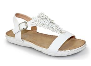 Lunar Sandals - Temple JLY064 White