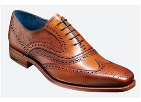 Barker Shoes - McClean Antique Rosewood Paisley