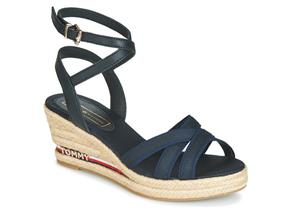 Tommy Hilfiger Sandals - Iconic Elba Corporate Ribbon Navy