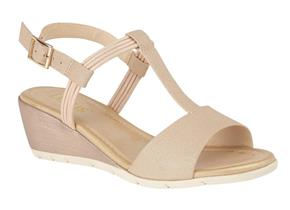 Lotus Sandals - Kiera Rose Gold