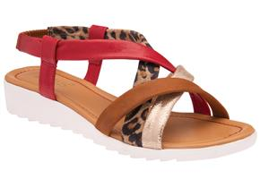 Lotus Sandals - Ronnie ULP171 Tan Multi