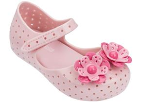 Melissa Shoes - Mini Furadinha Pretty Baby Pink
