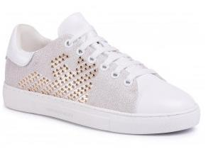 Emporio Armani Shoes - X3X071-XM259 White Gold