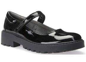 Geox Shoes - Casey J6420P Black Patent