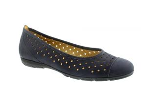 Gabor Shoes - 44-169 Navy Nubuck