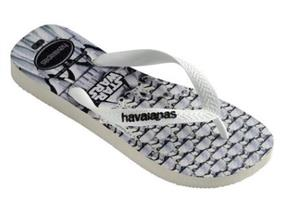 Havaianas Sandals - Kids Star Wars Black White