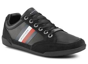 Tommy Hilfiger Shoes - Corporate Material Mix Cupsole Black