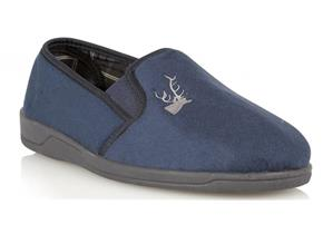 Lotus Slippers - Jack Navy