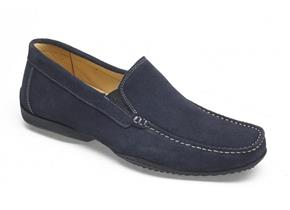 Anatomic Gel Taveres Navy Suede Mens Shoes
