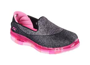 Skechers Shoes - 81078 Go Flex Black/Pink