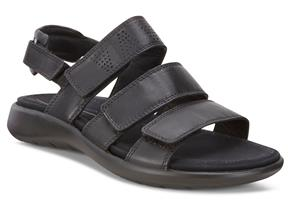 Ecco Sandals - Soft 5 Black