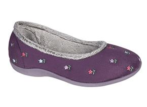Sleepers Slippers - Angel LS333 Purple