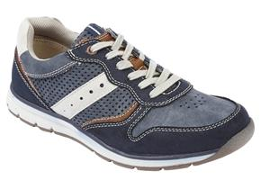 Lotus Shoes - Sampson Navy Multi