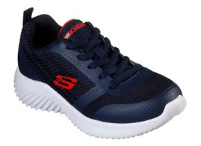 Skechers Shoes - Bounder 98303 Navy
