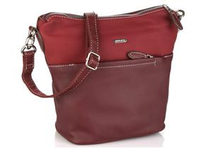 David Jones Bags - 6129-1 Dark Bordo