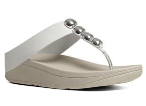 FitFlop™ Sandals - Rola™ White