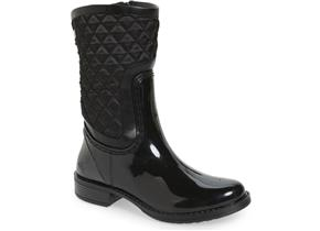 Posh Wellies - Cinnebar Black