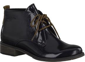 Marco Tozzi Boots - 25118-21 Navy Patent