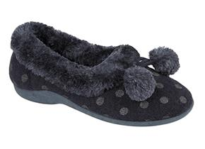 Sleepers Slippers - Marge LS965 Navy