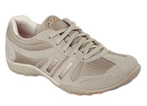 Skechers Shoes - Breathe Easy 22532 Taupe