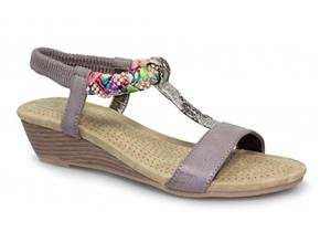 Lunar Sandals - Fern JLH987 Grey