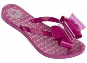 Zaxy Sandals - Link Twin Bow Pink