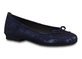 Jana Shoes - 22162-24 Navy Structure