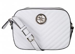 Guess Bags - Kamryn Xbody White